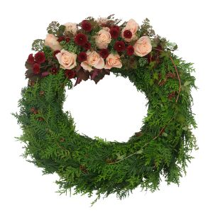 Rest in peace -funeral wreath