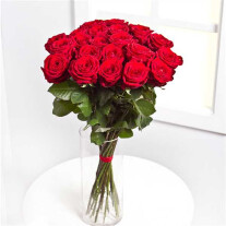 Bouquet of 25 Red Roses