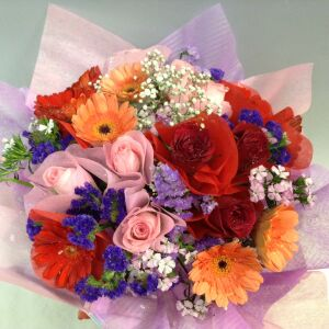 Mixed Cut Flowers Bouquet